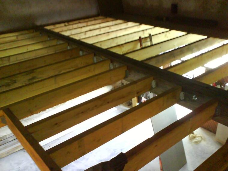 Planchers solivage bourges ltj charpente - Bande resiliente plancher ...